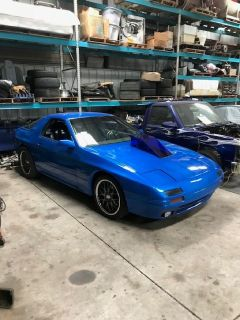 1986 Mazda RX-7 V-8 raced on street Outlaws