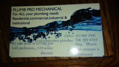Plumb pro mechanical