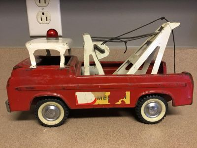 Vintage Nylint Ford American Oil Wrecker Tow Truck Amoco