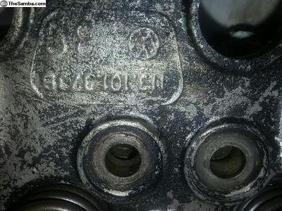1300cc cylinder heads
