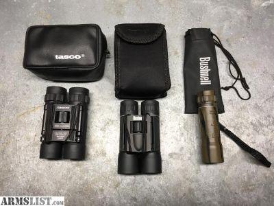 For Sale: Binoculars & Monocular