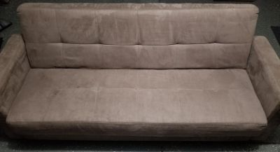 Microsuede Convertible with storage