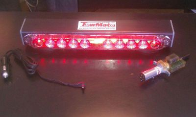 """Find New MAGNETIC TOW TRUCK LED LIGHTS,WIRELESS TAILIGHT SYSTEM 17"""" TOWING LIGHT SET motorcycle in Lynn, Massachusetts, US, for US $265.00"""