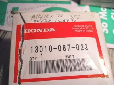 Find Honda ATC 70 TRX/XL/XR/CRF Std Ring Set motorcycle in Saint Peters, Missouri, US, for US $18.50