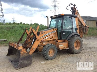 2007 (unverified) Case 590 Super M Series 2 4x4 Backhoe Loader