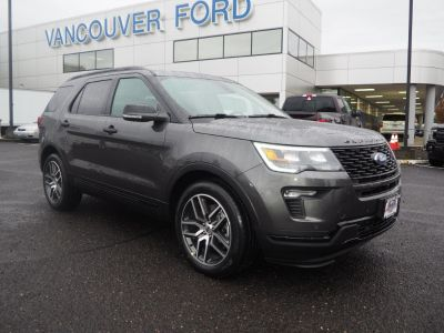 2019 Ford Explorer Sport (gray)