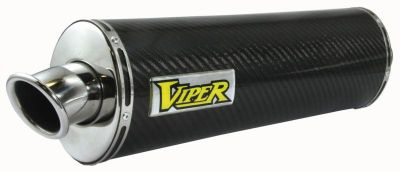 Purchase Viper Suzuki GSF650 Bandit 07-12 Motorcycle Carbon Fiber Oval Slip-On Exhaust motorcycle in Ashton, Illinois, US, for US $313.48