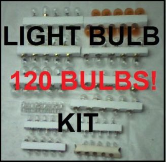 Purchase 120 assorted 12 volt light bulbs 1960- 70's GM Muscle cars Camaro Nova Cutlass motorcycle in Duluth, Minnesota, United States, for US $30.95