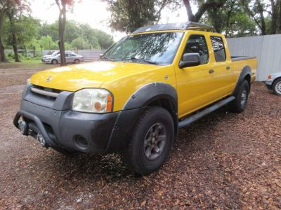 2002 Nissan Frontier XE-V6 (Yellow)