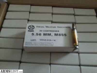 For Sale: 5.56 amo M855