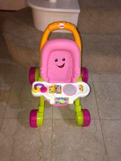 Fisher price stroll and learn walker