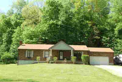 8197 Hartford Pike Aurora Three BR, Wooded 60 acre private