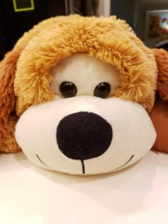 Large Puppy dog Plush! Clean and VGUC