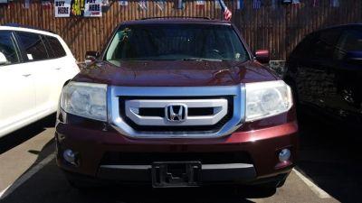 2010 Honda Pilot EX-L (Dark Cherry Pearl)