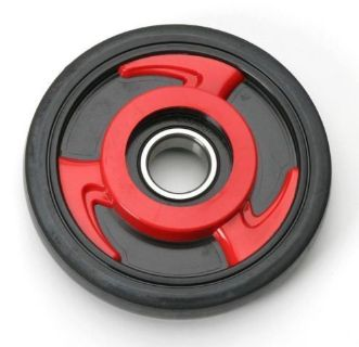 Purchase Parts Unlimited 4702-0030 Colored Idler Wheel 135mm (No Insert) Red motorcycle in Loudon, Tennessee, United States, for US $23.95