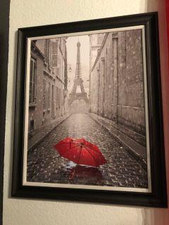 Cute Paris framed photo