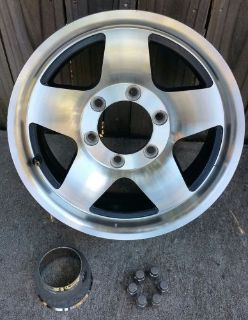 "Find 15"" Aluminum Black Star 6-Lug Trailer Wheel Rim motorcycle in San Antonio, Texas, United States, for US $95.00"