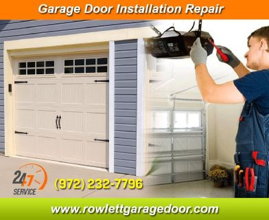 Same Day | New Garage Door Installation ($25.95) Rowlett Dallas, 75087 TX