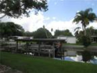 Great Location Located On Wide Deep Water Canal