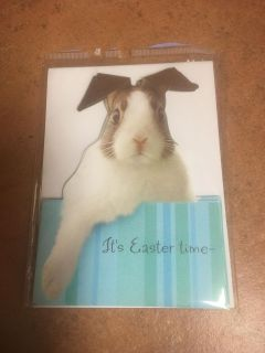 3pack Easter Cards with envelopes