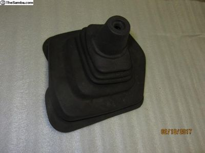 brown vanagon shifter boot F28