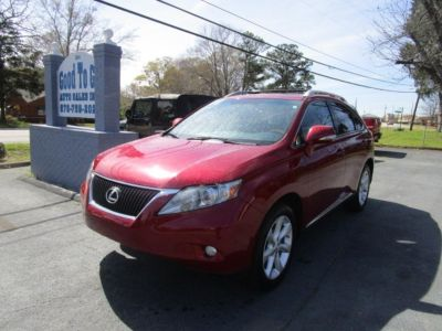 2011 Lexus RX 350 Base (RED)