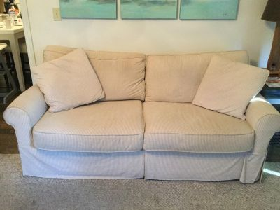 Striped Sofa / Couch