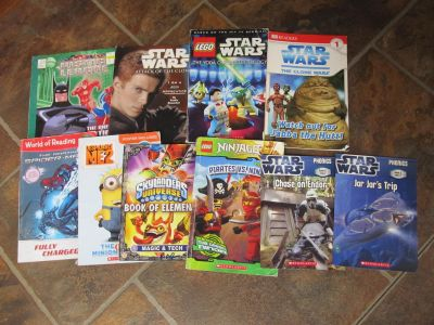 Lot of 10 Books for Boys $3 ALL