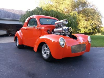 Blown 1941 Willys Coupe