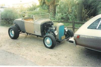 1931 Ford Hi-Boy Roadster