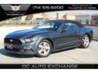 Used 2015 Ford Mustang Convertible