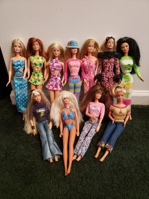 Barbies 11pc assortment