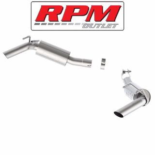 Find BORLA S-TYPE AXLE BACK EXHAUST 11850 2014 CHEVY CAMARO SS 6.2 W/ GROUND EFFECTS motorcycle in Gilbert, Arizona, United States, for US $635.99