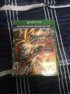 Dragonball FighterZ for Xbox One with SSB Goku collectible