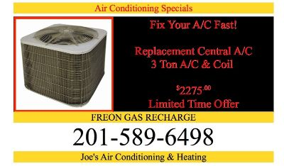 Affordable FREON Air Conditioning & Heating System