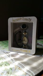 Waterbury clock company mini clock by Timex