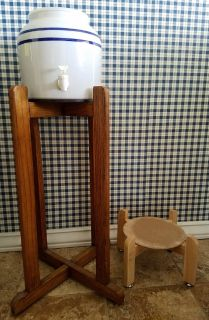 Water Dispenser & Two Stands