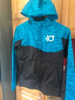 Kd basketball zip up hoodie. Excellent condition