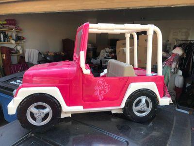 Target brand (American Doll) jeep