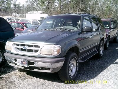 1997 Ford Explorer XLT (Blue/Green)