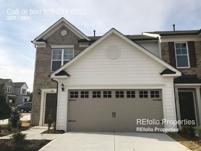 Brand New 2 story End unit townhome in Southpoint Townes, Subdiv, Durham!