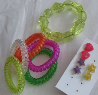 Fun Summer Plastic Jewelry