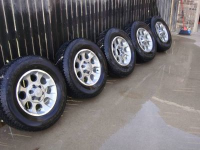 17 Alloy Rims and Tires (Toyota)