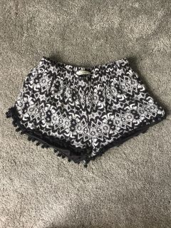 Cute shorts or bathing suit cover up