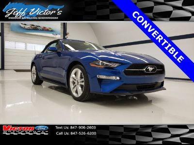 2018 Ford Mustang EcoBoost Premium Convertible (Lightning Blue Metallic)