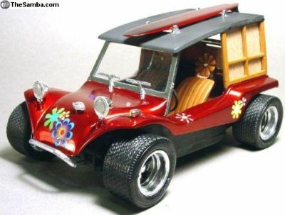 Dune Surf Buggy VW 1/20 Hot Rat Rod RARE in US