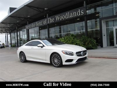 2015 Mercedes-Benz S-Class S550 (Designo Diamond White)