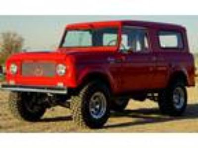 1961 International Harvester Scout 80 152 Comanche 4x4