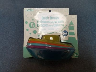 New in Package Bath Boats