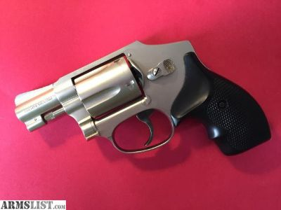 For Sale: SMITH AND WESSON 442 NICKEL